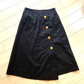 ルクールブラン(le.coeur blanc)のスカート(ひざ丈スカート)