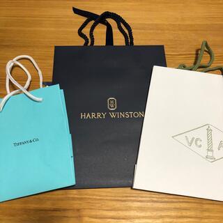 ハリーウィンストン(HARRY WINSTON)の紙袋セット ハリーウィンストン ティファニー ヴァンクリ(ショップ袋)