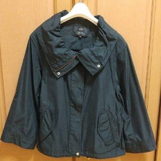 ニジュウサンク(23区)の23区 ショートブルゾン スプリングコート  黒  薄手ジャンバー  薄手コート(スプリングコート)