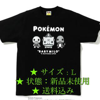 アベイシングエイプ(A BATHING APE)の【 BAPE X POKEMON 】MONOTONE TEE (Tシャツ/カットソー(半袖/袖なし))