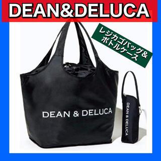 ディーンアンドデルーカ(DEAN & DELUCA)のDEAN&DELUCA エコバッグ レジカゴバッグ&ボトルケース(かごバッグ/ストローバッグ)