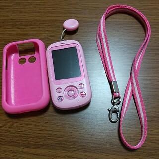 エヌティティドコモ(NTTdocomo)のDOCOMO キッズケータイ ピンク F03J(携帯電話本体)