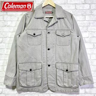 コールマン(Coleman)のColeman コールマン カバーオール 希少 グレー ワークジャケット(カバーオール)