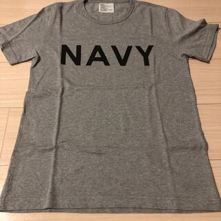 極美品NexusⅦ×loopweeler NAVY Tシャツ M ミリタリー