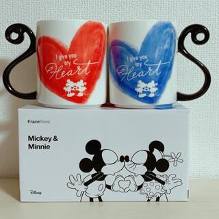Francfranc - 【週末限定値下げ】Francfranc ☆ミッキー&ミニー☆ ペアマグカップ