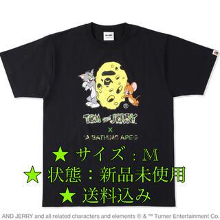 アベイシングエイプ(A BATHING APE)のBAPE X TOM AND JERRY CHEESE APE HEAD TEE(Tシャツ/カットソー(半袖/袖なし))