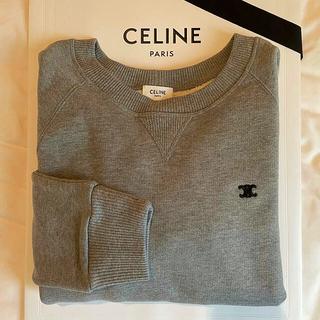 celine - 新品 セリーヌ CELINE トリオンフトレーナー Mサイズ