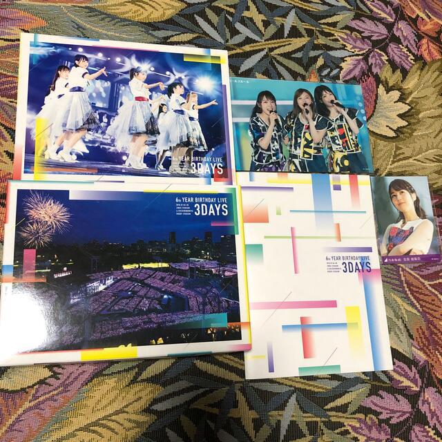 乃木坂46(ノギザカフォーティーシックス)の6th YEAR BIRTHDAY LIVE(完全生産限定盤) Blu-ray エンタメ/ホビーのDVD/ブルーレイ(ミュージック)の商品写真