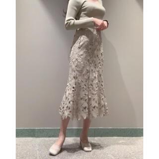 スナイデル(snidel)のSNIDEL / スナイデル リーフレースマーメイドスカート(ロングスカート)
