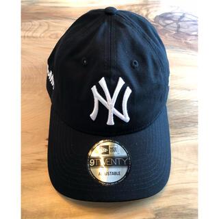 MOMA - 新品 US限定 MOMA x Yankees New Era Cap ブラック