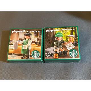 スターバックスコーヒー(Starbucks Coffee)の韓国 スターバックス プレイモービル playmobil JOY JENNY(その他)