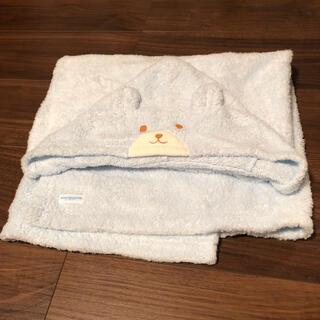mikihouse - おくるみタオル  新品です