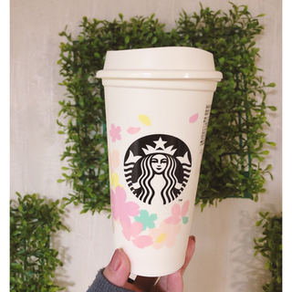 スターバックスコーヒー(Starbucks Coffee)のスタバ STARBUCKS さくら リユーザブルカップ タンブラー(タンブラー)