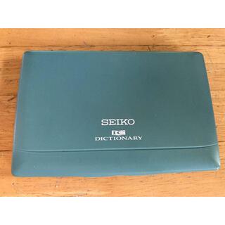 セイコー(SEIKO)のSEIKO セイコー電子辞書 TR570  ICディクショナリー(電子ブックリーダー)