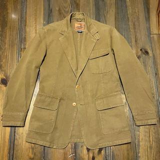 ダブルアールエル(RRL)の80sVTG POLO SPORTSMAN Brown Duck Jacket(テーラードジャケット)