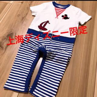 ディズニー(Disney)の超美品 上海ディズニーランド 限定 ロンパース(Tシャツ/カットソー)
