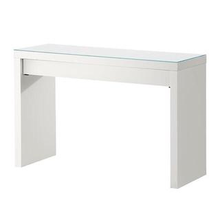 イケア(IKEA)のIKEA MALMマルム ドレッシングテーブル, ホワイト, 120x41 cm(ドレッサー/鏡台)