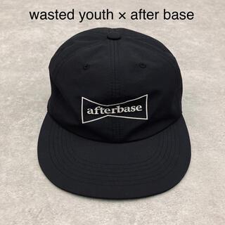 アフターベース(AFTERBASE)の専用 wasted youth × after base コラボ キャップ (キャップ)