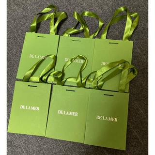 ドゥラメール(DE LA MER)のドゥ・ラ・メール ショップ袋×6枚(ショップ袋)