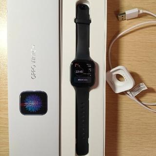 オッポ(OPPO)のOPPO Watch 41㎜ black(スマートウォッチ Wear OS)(腕時計(デジタル))