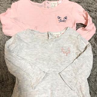 ザラ(ZARA)のzara baby girl 長袖Tシャツ(Tシャツ)