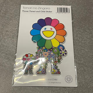本物国内正規品 kaikaikiki 村上隆 Sticker お花ステッカー(キャラクターグッズ)