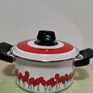 ゾウジルシ(象印)の昭和レトロホーロー鍋(鍋/フライパン)