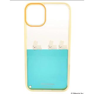 メリージェニー(merry jenny)の【XR】ぷかぷかうさぎiPhone case(iPhoneケース)