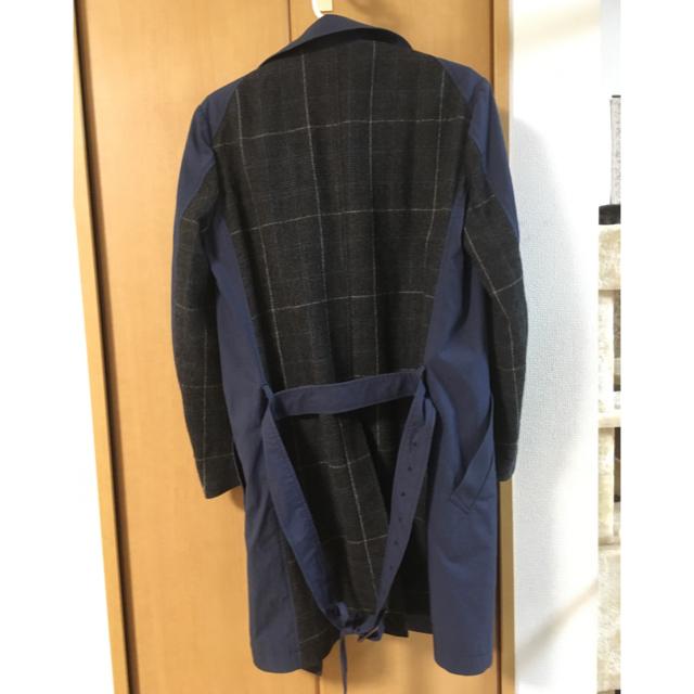 ATTACHIMENT(アタッチメント)のアタッチメント 切替トレンチコート サイズ1(最小)ネイビー メンズのジャケット/アウター(トレンチコート)の商品写真
