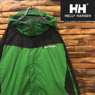 ヘリーハンセン(HELLY HANSEN)のHELLY HANSEN ヘリーハンセン マウンテンパーカー ナイロン Lサイズ(ナイロンジャケット)
