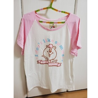 ダブルシー(wc)のダブルシー くまたん半袖シャツ(Tシャツ(半袖/袖なし))