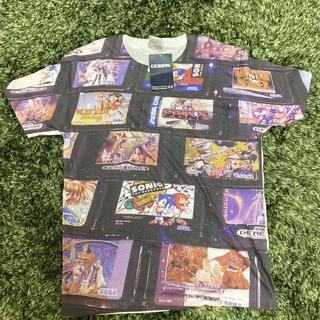 【激レア・未使用】COSPA メガドライブ カートリッジフルグラフィックTシャツ(キャラクターグッズ)