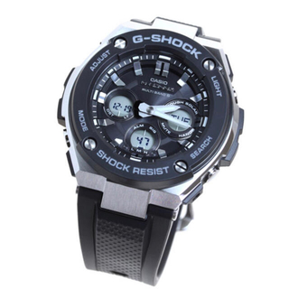 カシオ(CASIO)のCASIO G-SHOCK G-STEEL  GST-W300-1AJF(腕時計(アナログ))