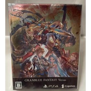 プレイステーション(PlayStation)のグランブルーファンタジーヴァーサスプレミアムボックス 新品未開封(家庭用ゲームソフト)