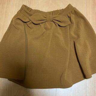 シマムラ(しまむら)のリボンスカートM(ミニスカート)