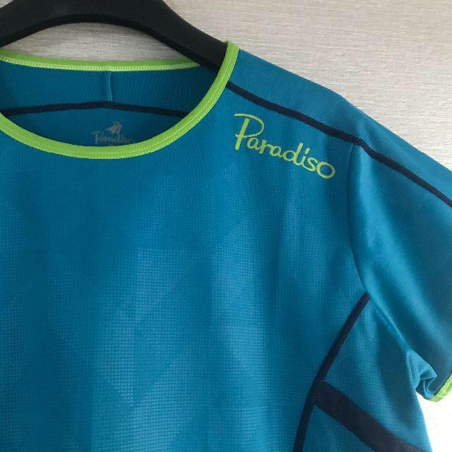 Paradiso(パラディーゾ)のパラディーゾ☆レディース☆テニスウェア☆ゲームシャツ☆美品☆L スポーツ/アウトドアのテニス(ウェア)の商品写真