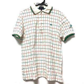パーリーゲイツ(PEARLY GATES)のパーリーゲイツ 半袖ポロシャツ サイズ5 XL(ポロシャツ)