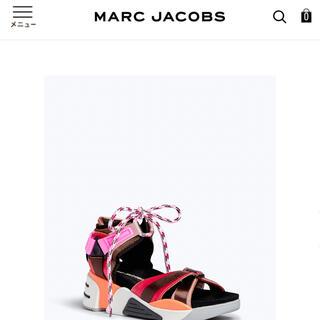マークジェイコブス(MARC JACOBS)のMARC JACOBS somewhere sports sandal(サンダル)
