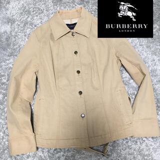 BURBERRY - バーバリーロンドン ジャケット ベルト付き burberryベージュ
