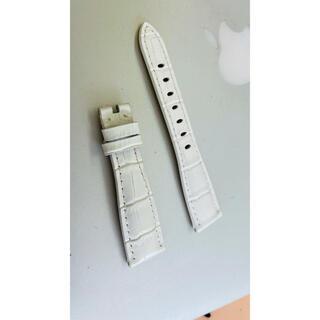 ガガミラノ(GaGa MILANO)の新品 GaGa MILANO ガガミラノバンド ベルト 40ミリ用 白色(ベルト)