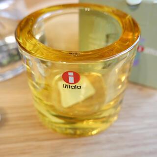 イッタラ(iittala)のイッタラ kivi キャンドルホルダー レモン(食器)