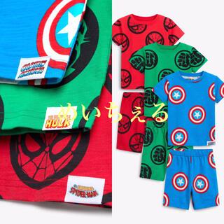MARVEL - 【新品】マルチカラー MARVEL ショートパジャマ3枚組(ボーイズ)