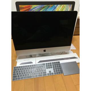 Mac (Apple) - iMac 2019 21.5インチ 4k retinaディスプレイ 美品