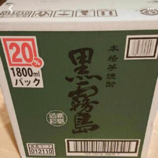 霧島酒造 黒霧島 1800mlパック 12本セット 2ケース(焼酎)