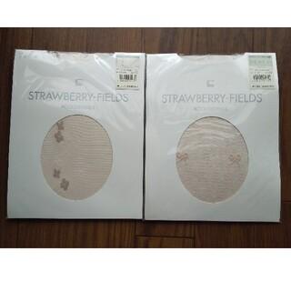 ストロベリーフィールズ(STRAWBERRY-FIELDS)のストロベリーフィールズ ストッキング 2枚セット(タイツ/ストッキング)