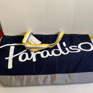 パラディーゾ(Paradiso)の新品未使用ラケットバッグケースパラディーゾネイビー(バッグ)