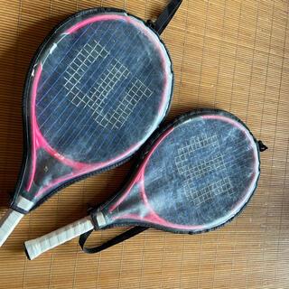 ウィルソン(wilson)のWilson  BURN  JUNIOR  テニスラケット23インチ 2本セット(ラケット)