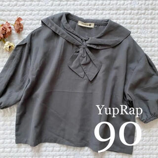 新品❁*セーラー 襟 スモック90(Tシャツ/カットソー)