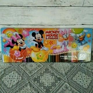 ディズニー(Disney)のディズニー色鉛筆 50色(色鉛筆)