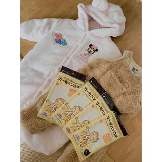 ニシマツヤ(西松屋)の新生児 洋服 セット おまけ付き(ロンパース)